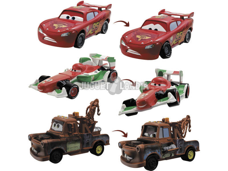 Cars 2 coches transformables