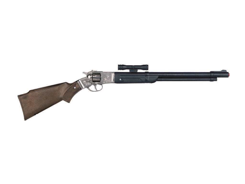 Brinquedo Cowboy Rifle 8 Tiros Gonher 1104/0