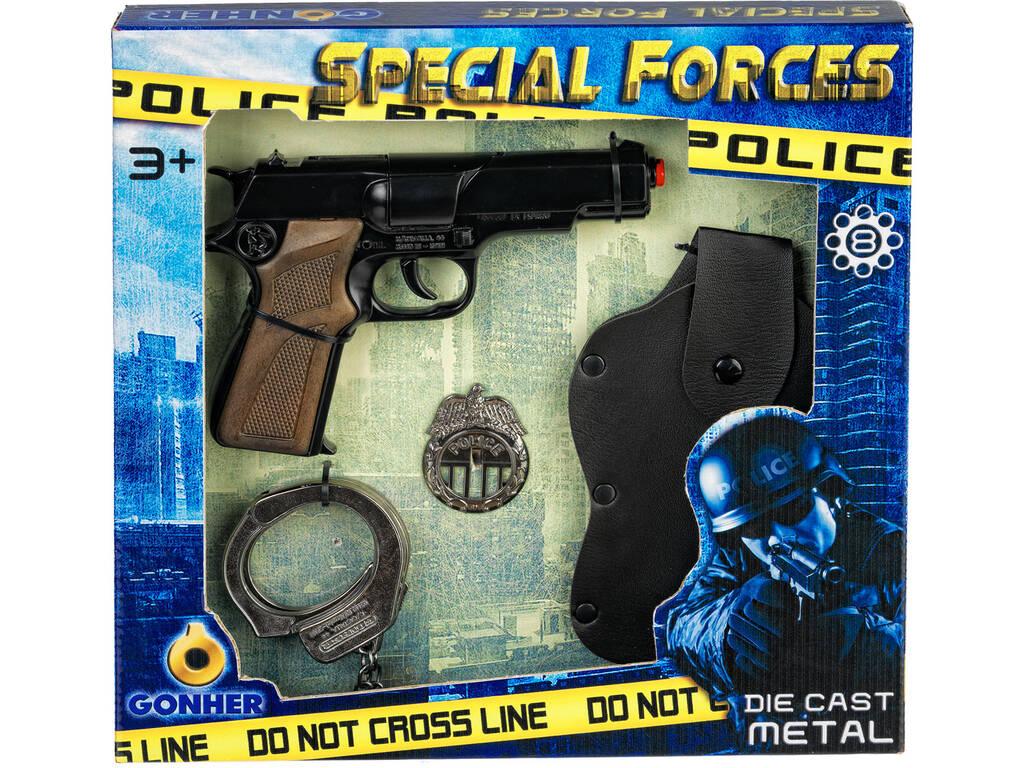 Set Especial De Policia de brinquedo Gonher 425/7