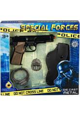 Set Especial De Policía de Juguete Gonher 425/7