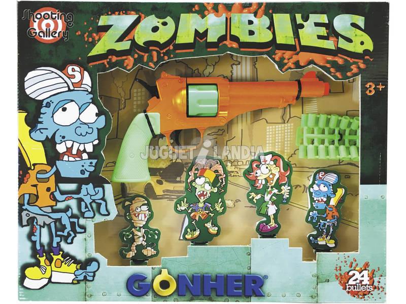 Juego De Tiro al Zombie Shooting Gallery Gonher 905/0