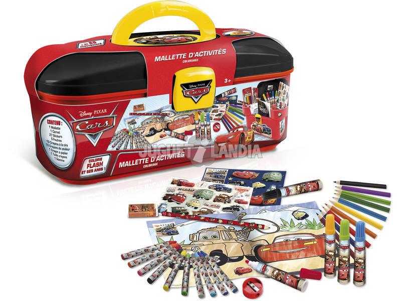 Valigetta Cars Colori 30 pezzi Canal Toys CARC 004