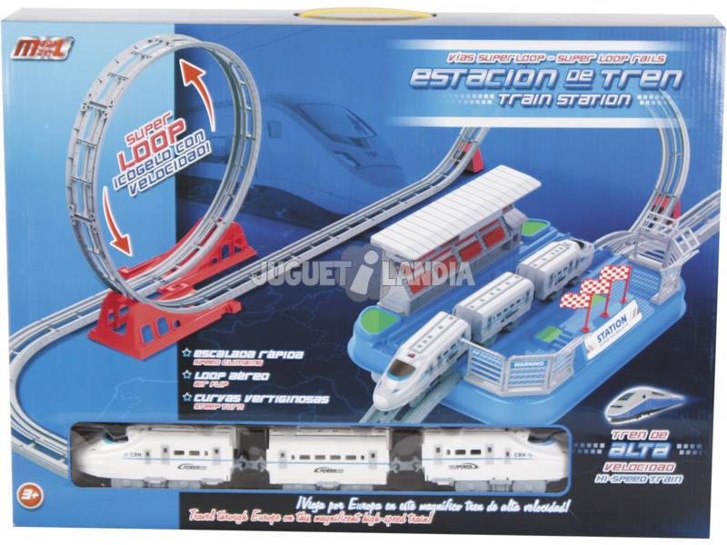 Costruisci il tuo treno 148x62x41 cm.