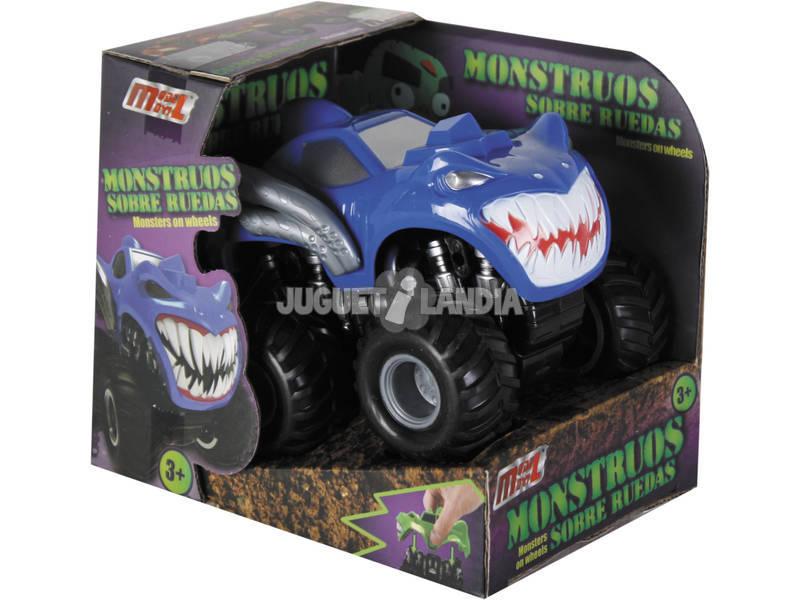 Carro Big Power Monster Car Fricção