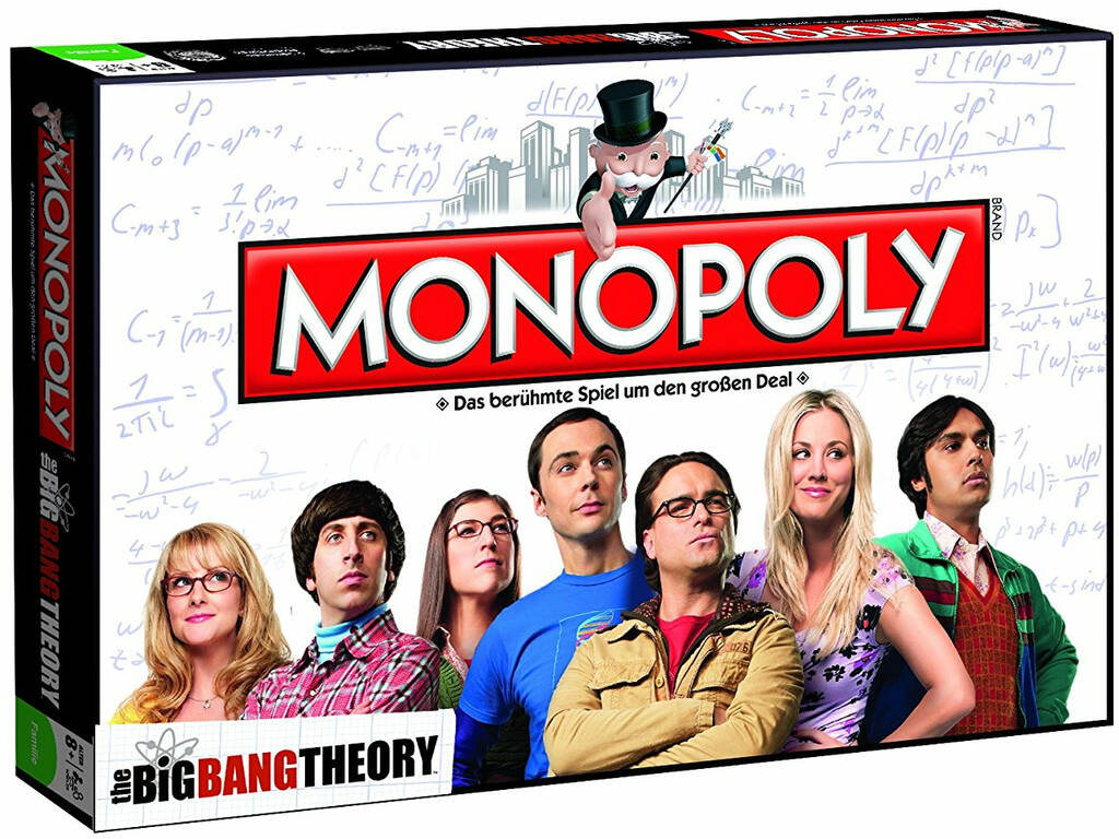Monopoly Big Bang Theory Eleven Force 63317