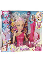 Büste mit den Händen Assorted Diana Prinzessin der Feen 27x12cm