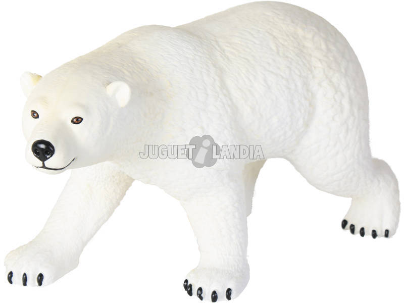 Figura Animal Urso Polar 25x50.5x22cm