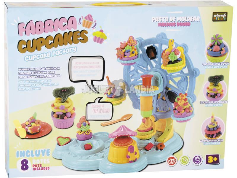 Manualidades Fábrica de Cupcakes Com Acessórios