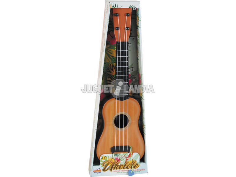 Instrumento Musical Guitarra Havaiana Ukelele 56x17x5.5cm