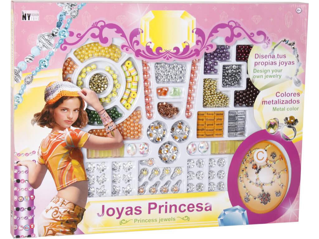 Set de Beleza Joias Princesa Com Acessórios