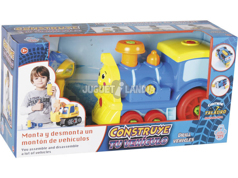 Constrói o teu Veículo Locomotriz 18x27x14cm