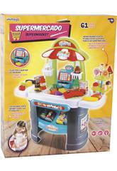 Supermarché avec Sons et Lumières 61 Pièces 68x66x25cm