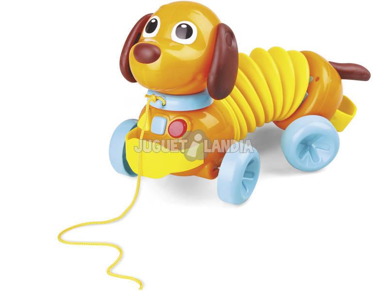 Brinquedo Para Bebé Cão Acordeão 14x27x13cm 1 - 4 anos