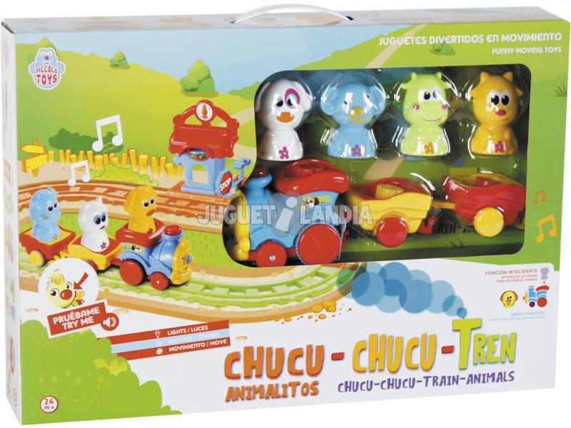 Treno Animali Chucu Chucu Luci e Suoni 2-4 anni