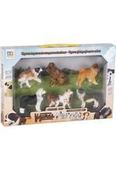 imagen Figuras Set Perros Raza 6 Unidades 6cm