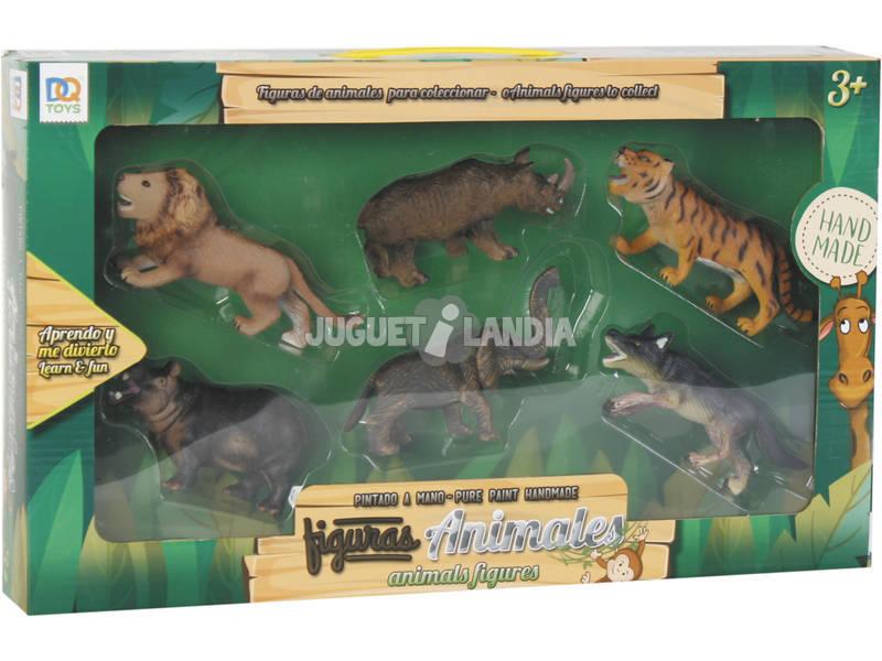 Figure set Animali 6 unità 7 cm