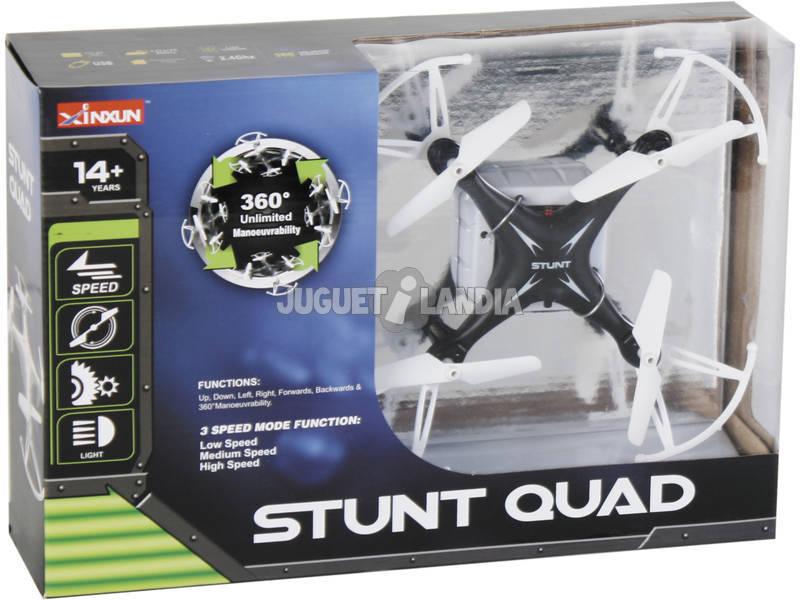 Mini Drone Stunt Quad Sortido 14.5cm 2.4GHz