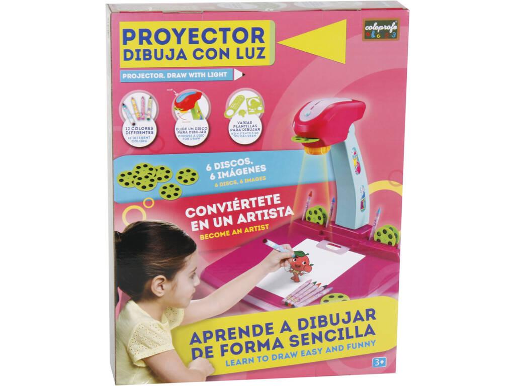 Proyector Rosa Dibuja Con Luz