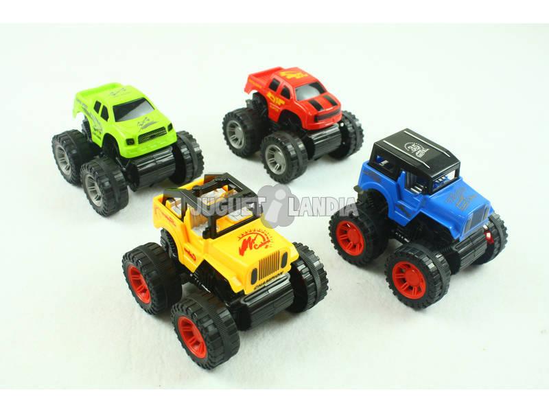 Set Veicoli Rally Fuoristrada e Jeeps Azione Su Ruote 4 Unità
