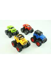 imagen Set Vehículos Rally Todoterrenos y Jeeps Acción Sobre Ruedas 4 Unidades