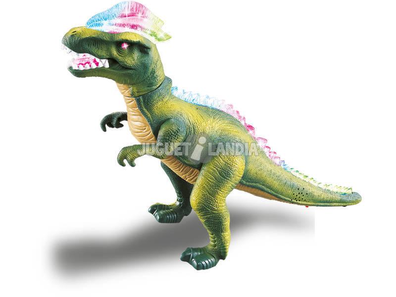 Figura Dinosauro Camminante verde 36 cm