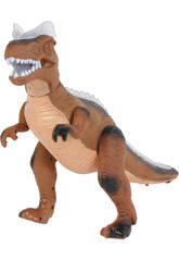 Dinosaure qui marche Marron 36 cm