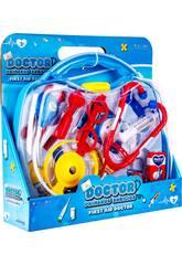Kit Médico Doutor Primeiros Socorros Com Acessórios 28.5x31x8.5cm