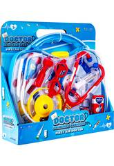 imagen Kit Médico Doctor Primeros Auxilios Con Accesorios 28.5x31x8.5cm