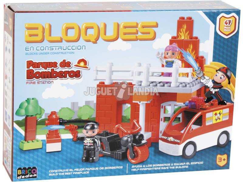 Caserma dei Pompieri47 pezzi Blocchi Costruzione
