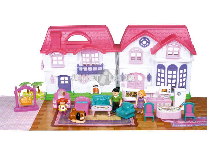 Casa My Happy Family Assortita Con Accessori 23x46x5cm