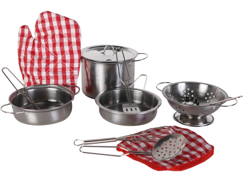 Red menaje de cocina 12 piezas juguetilandia for Menaje cocina online