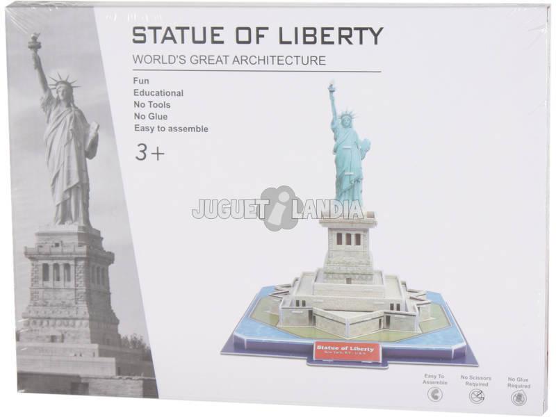 Puzzle 3D Estatua de la Libertad 32 piezas