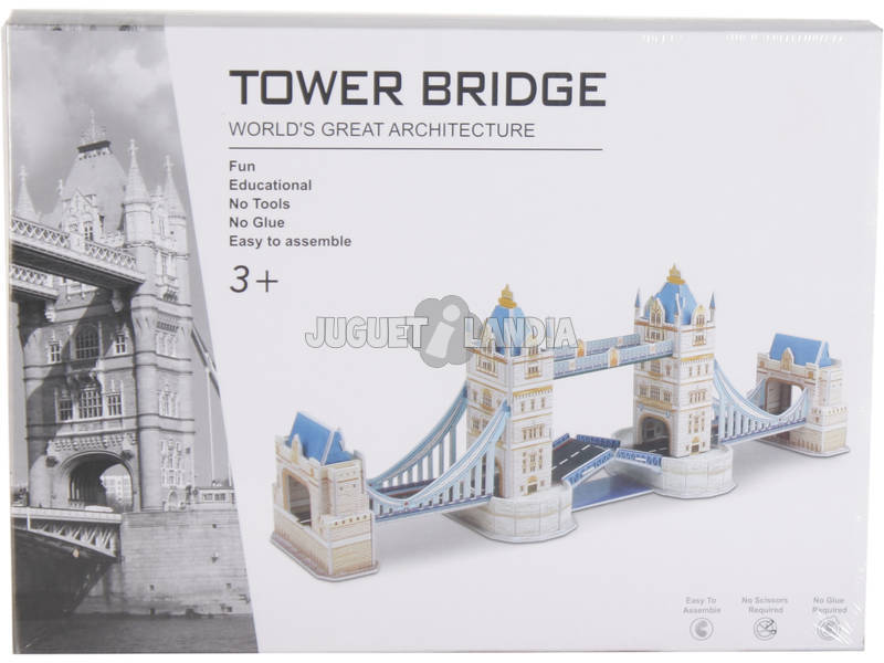 Puzzle 3D Tower Bridge 48 piezas