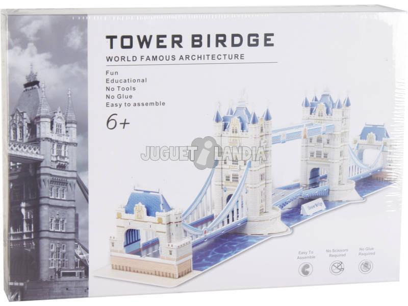 Puzzle 3D Tower Bridge 120 peças