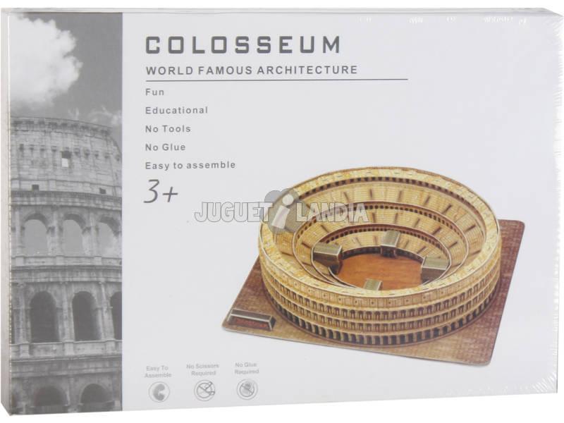 Puzzle 3D Coliseu Romano 84 peças