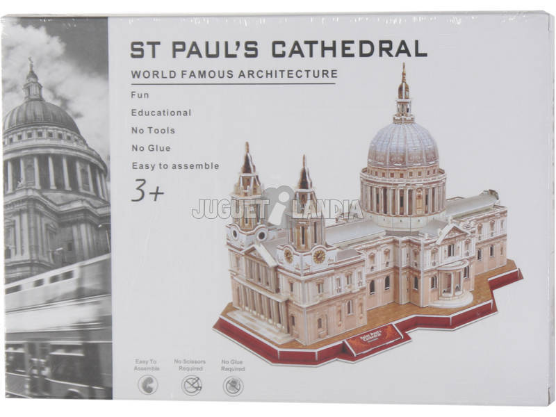 Puzzle 3D Saint Paul's Cathedral 107 pezzi
