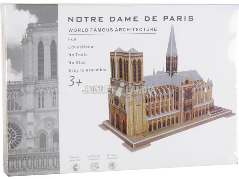 Puzzle 3D Notre Damme 77 peças