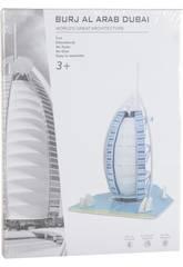 imagen Puzzle 3D Burj Al Arab 33 piezas
