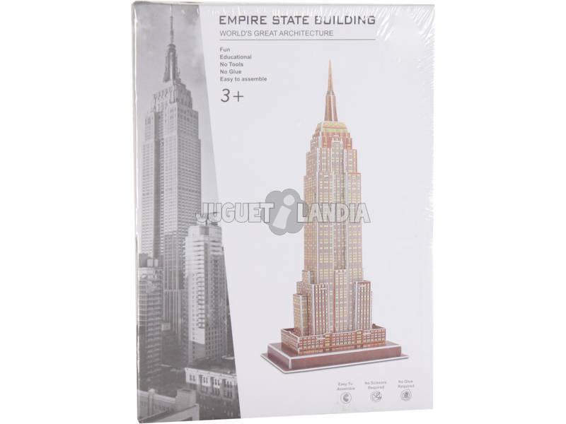 Puzzle 3D Empire State 37 pezzi