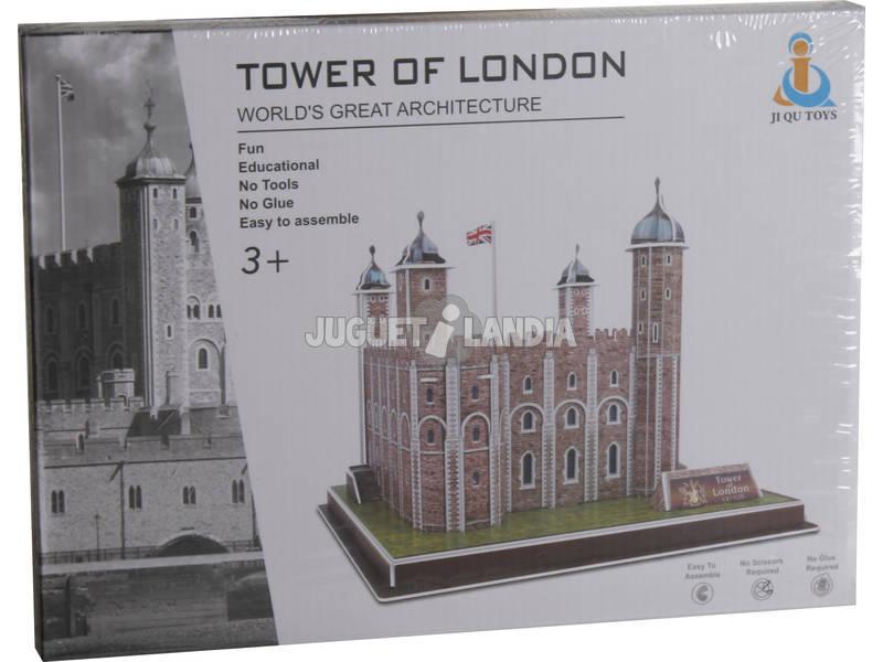 Puzzle 3D A Torre De Londres 38 Peças 16.6x20.4x19.4cm