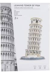 imagen Puzzle 3D Torre de Pisa 31 Piezas 23x13.8x13.8cm