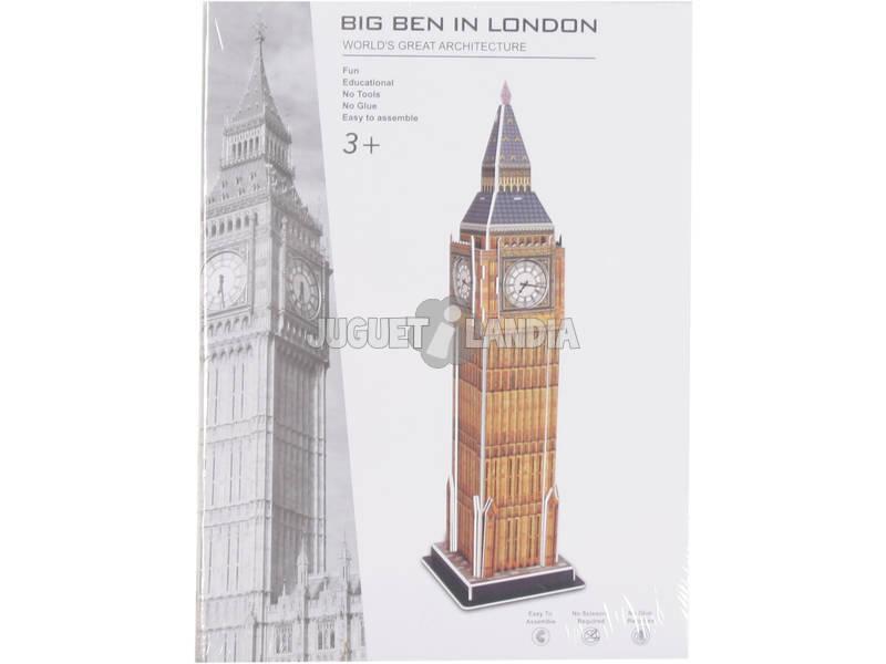 Puzzle 3D Big Ben 31 Piezas 38.5x10.2x10.2cm