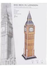 imagen Puzzle 3D Big Ben 31 Piezas 38.5x10.2x10.2cm