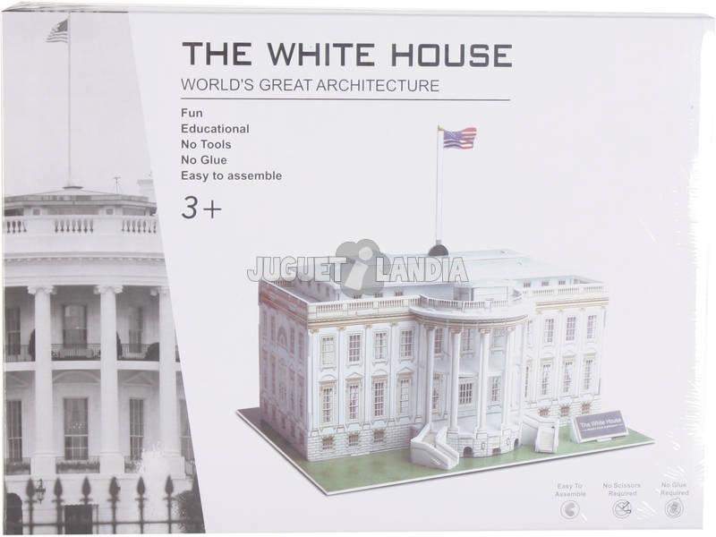 Puzzle 3D La Casa Blanca 35 Piezas 19.5x21.5x20.4cm