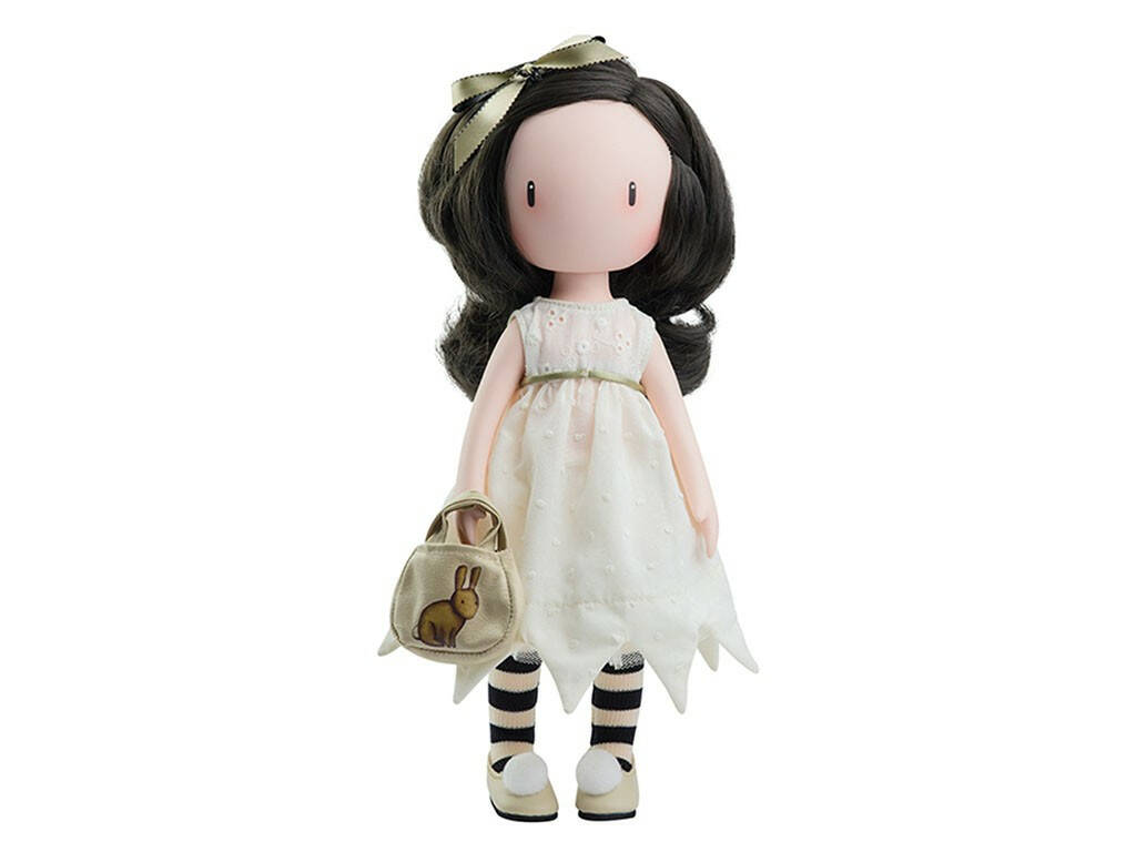 Bambola 32 cm Gorjuss di Santoro I Love you Little Rabbit Paola Reina 04909