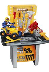 Banco de Trabajo 45 Piezas 63x40x23 cm Con Moto 19 cm