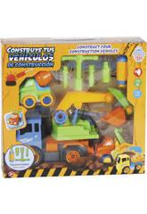 Construye Tus Vehículos de Construcción 28x17 cm Color Azul