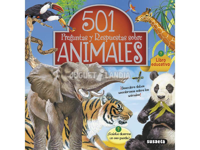 501 Perguntas e Respostas ... (2 Livros) Susaeta Edições