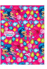 imagen Papel de regalo Shimmer and Shine 200 x 70 cm Montichelvo 55629