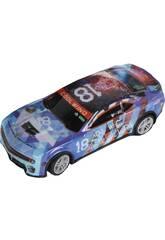 imagen Coche Racing Radio Control Cool Wind Rombos Número 18 6x18x8 cm